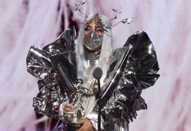 Lady Gaga en la gala MTV 2020