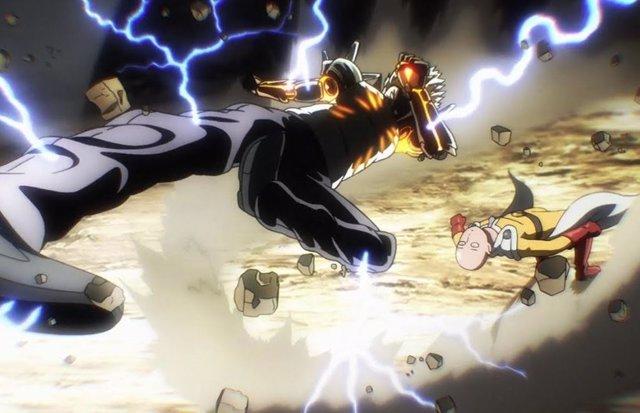 Saitama y Genos de One Punch Man, cara a cara