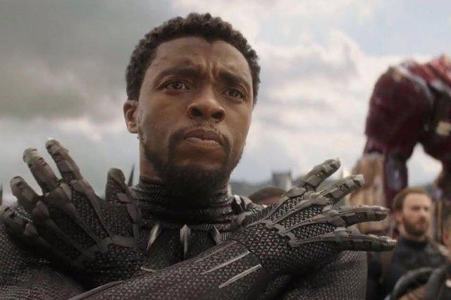 Chadwick Boseman como el irremplazable Black Panther de Marvel
