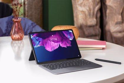 Lenovo presenta su nueva tableta Tab P11 Pro con inicio de sesión mediante reconocimiento facial
