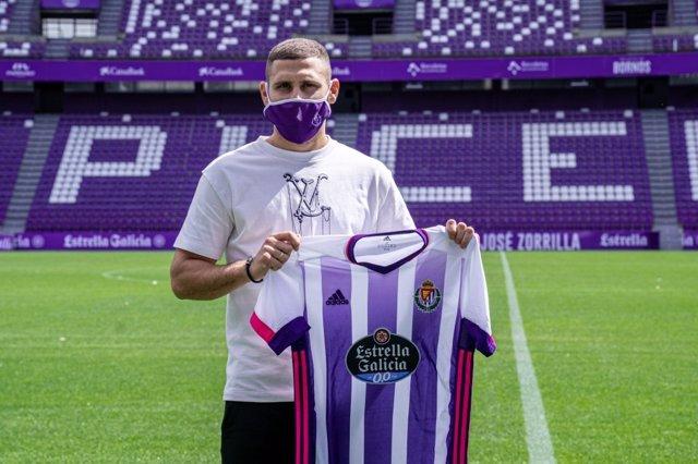 Fútbol.- El Real Valladolid refuerza su ataque con Weissman, máximo goleador de