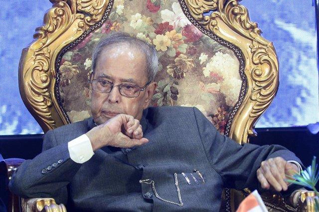 India.- El expresidente indio Pranab Mukherjee muere a los 84 años