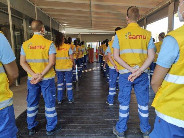 Sevilla.- Homenajeados los 28 voluntarios de la 'Misión El Salvador' de SAMU de