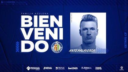 El croata Ante Palaversa jugará cedido en el Getafe