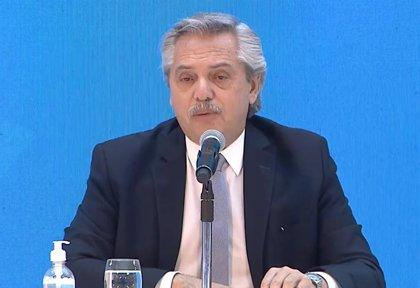 Argentina.- Alberto Fernández anuncia un acuerdo para la reestructuración del 99 por ciento de la deuda argentina