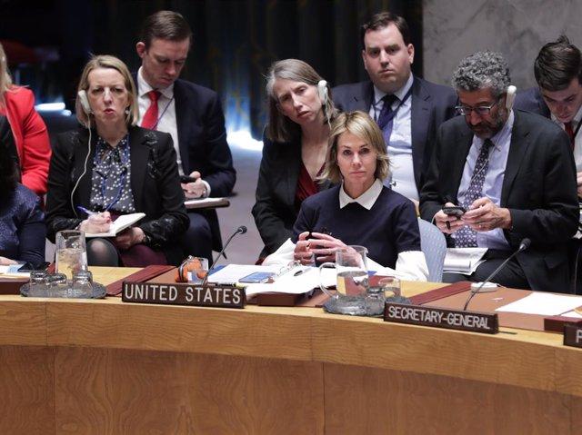ONU.- EEUU veta una resolución del Consejo de Seguridad sobre terroristas extran