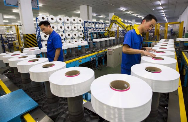 China.- China acelera su actividad manufacturera a máximos desde 2011, según PMI
