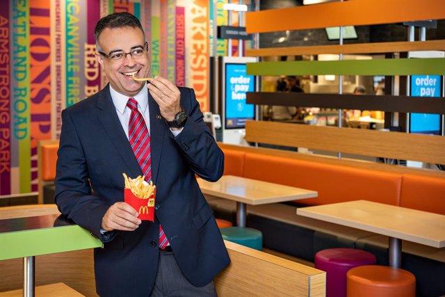 Economía/Empresas.- McDonald's nombra Luis Quintiliano nuevo director general en