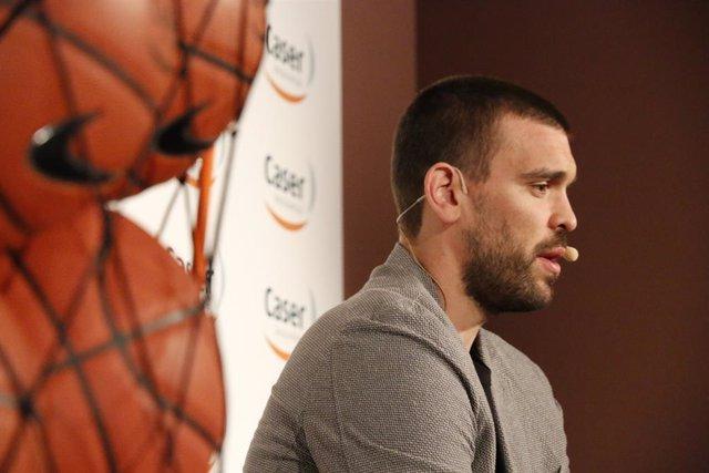 """Baloncesto/NBA.- Marc Gasol: """"Nuestro juego físico tiene que crecer"""""""