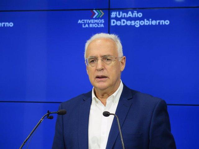 El presidenta del PP riojano, Jose Ignacio Ceniceros