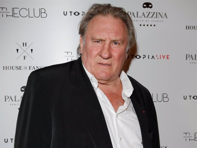 Gerard Depardieu attends 'A Royal Affair' reception during the 74th Venice Film Festival at Pallazina G  in Venice, Italy.