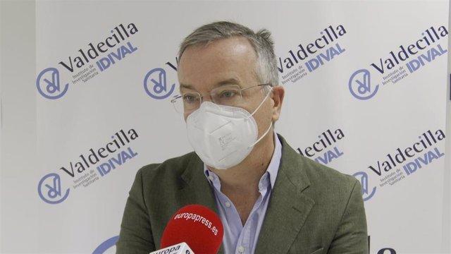 El director de gestión de la Fundación Instituto de Investigación Marqués de Valdecilla, Galo Peralta.