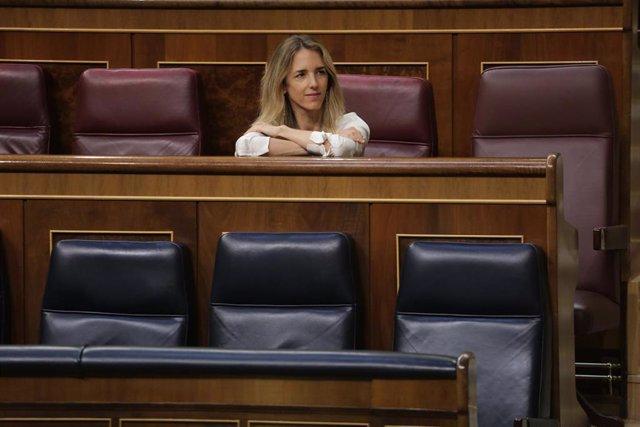 Cayetana Álvarez de Toledo, cuando era portavoz del PP en el Congreso