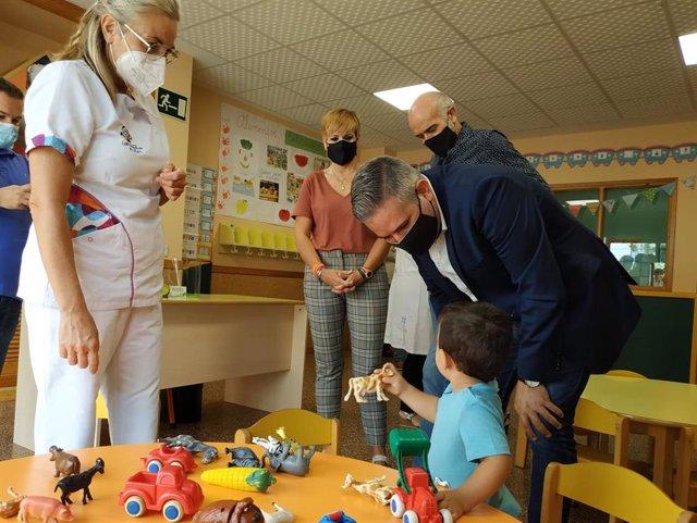 Inicio del curso en la Escuela Infantil Los Remedios