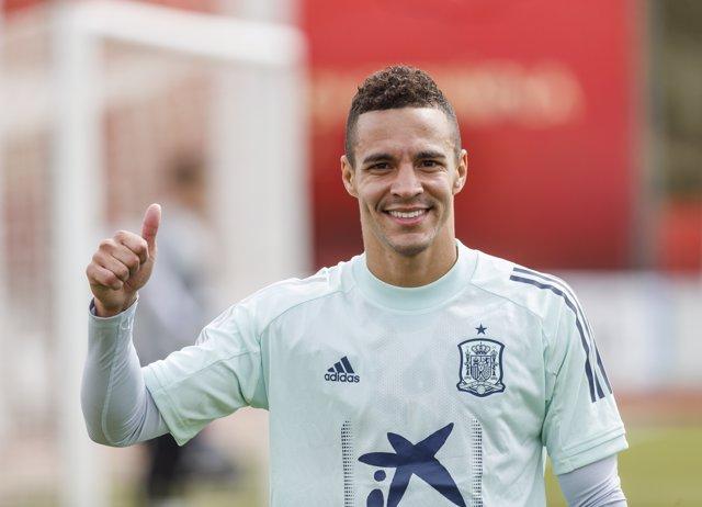"""Rodrigo: """"Asumo la responsabilidad en la selección, no es una presión añadida"""""""