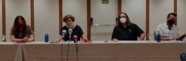CCOO y UGT rueda de prensa sobre el PGOU de Marbella