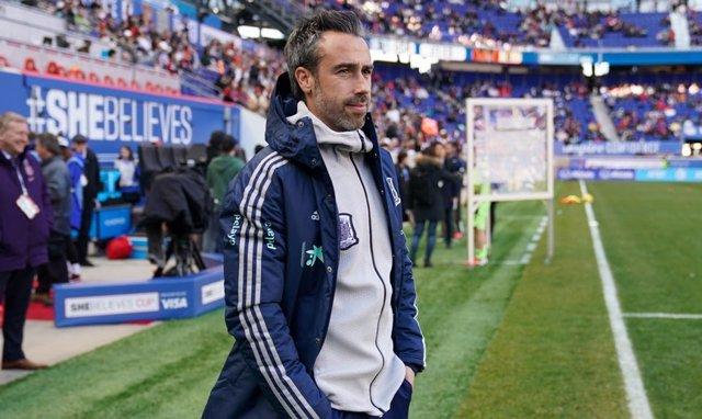 El seleccionador nacional femenino de fútbol, Jorge Vilda