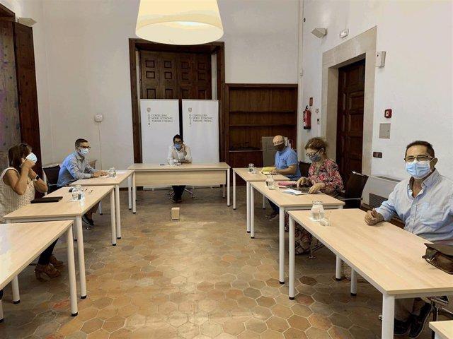 Reunión del Govern con los agentes sociales