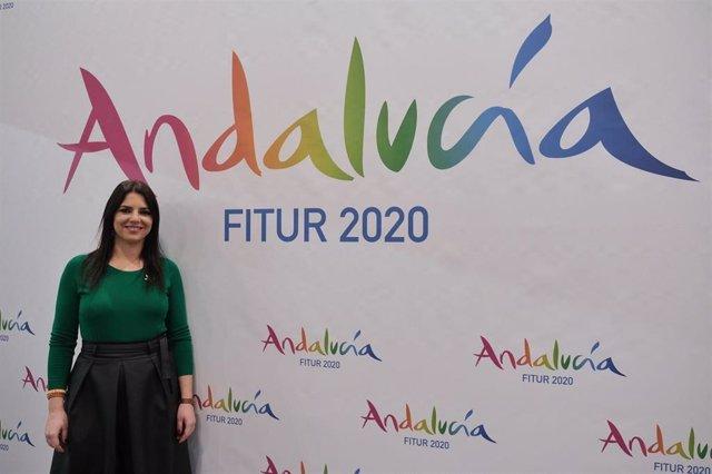 La delegada territorial de Turismo de la Junta de Andalucía en Córdoba, Purificación Joyera
