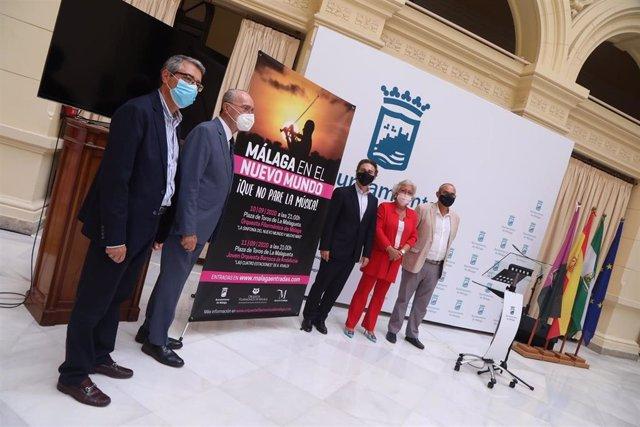 Presentación de  'Frente al mar, Málaga el nuevo mundo: ¡Que no pare la música!'