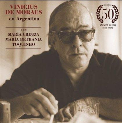 Brasil.- Publican un disco especial por los 50 años del paso de Vinicius de Moraes por Argentina