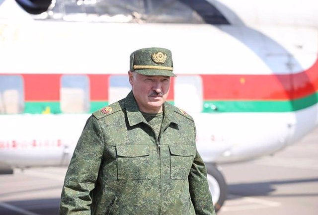 El president de Bielorússia, Alexandr Lukaixenko.