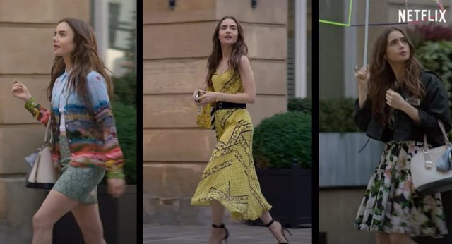 Lily Collins enamora en el tráiler de Emily in Paris, la nueva serie de Netflix