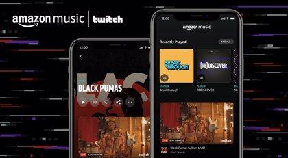 Portaltic.-Amazon Music incorpora los vídeos en 'streaming' de los artistas en Twitch