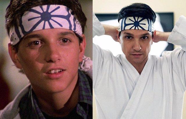 El Actor Ralph Maccio Como Daniel Larusso En Karate Kid Y En Cobra Kai, La Serie