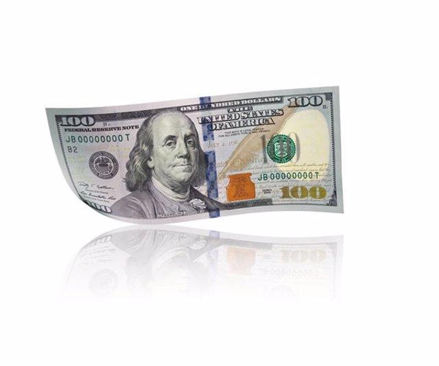 Imágenes de la nueva versión del billete de 100 dólares