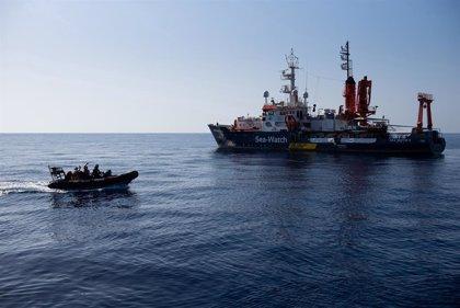 Europa.- El 'Sea Watch 4' rep permís per atracar a Sicília amb 353 migrants a bord