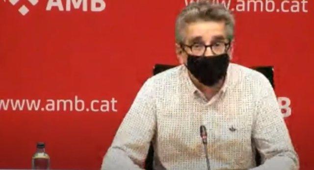 El vicepresident de Planificació Estratègica de l'Àrea Metropolitana de Barcelona (AMB) i regidor de Pressupostos de Barcelona, Jordi Martí