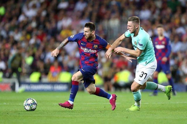 Fútbol.- El Inter de Milán cierra la puerta a Messi