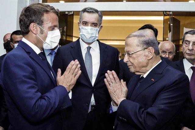 Líbano.- Los líderes libaneses prometen a Macron formar gobierno en 15 días
