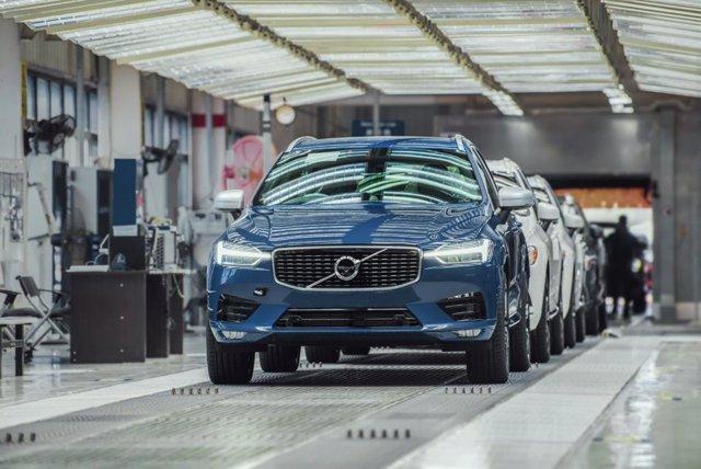 Economía/Motor.- Volvo mejora un 7,2% sus ventas en agosto por el empuje de Chin