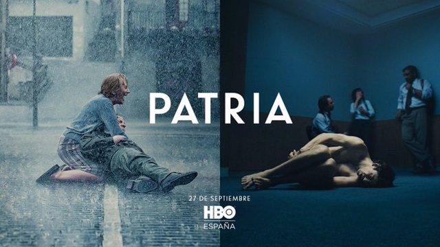 El cartel de Patria de HBO desata la polémica