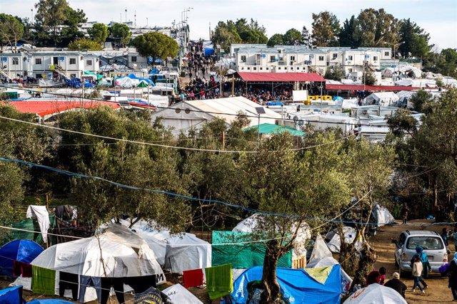 Coronavirus.- Confirmado el primer caso de COVID-19 en el campo de refugiados gr