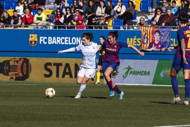 Fútbol/Selección.- Teresa Abelleira y Peke, novedades de Jorge Vilda para el par