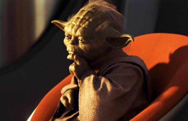 El Maestro Yoda en la trilogía precuela de Star Wars
