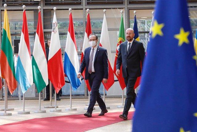 Balcanes.- La UE confirma la cita entre Serbia y Kosovo el próximo lunes centrad