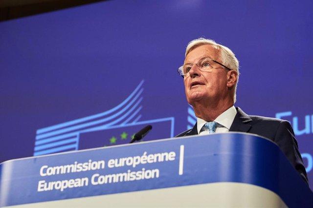 Brexit.- Barnier insiste en que la posición de Londres no ha evolucionado en mes