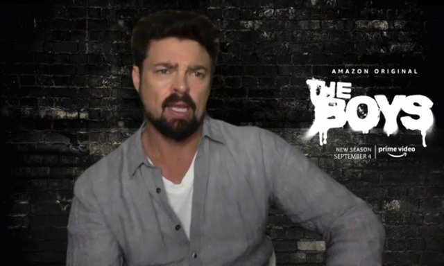 Karl Urban (Carnicero) define la temporada 2 de The Boys en tres palabras