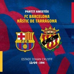 Fútbol.- El Barça de Koeman jugará su primer amistoso contra el Nàstic