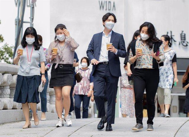 Coronavirus.- Corea estabiliza su último rebrote con menos de 200 casos diarios