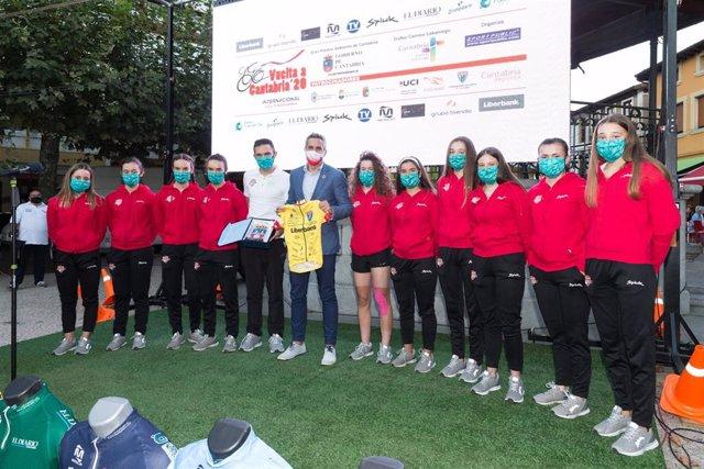 Presentación de la Vuelta a Cantabria 2020