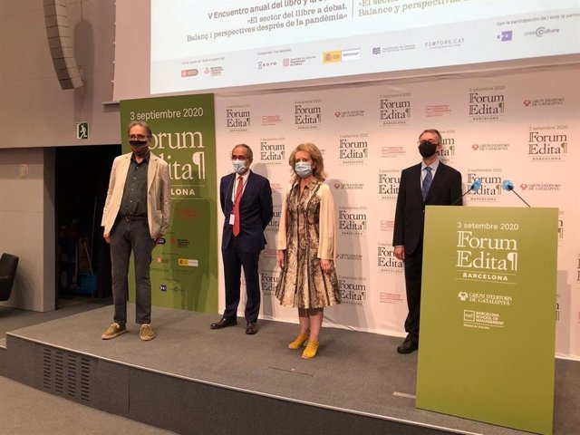 Presentación del Forum Edita con Joan Subirats, Patrici Tixis y Mariàngela Villalonga