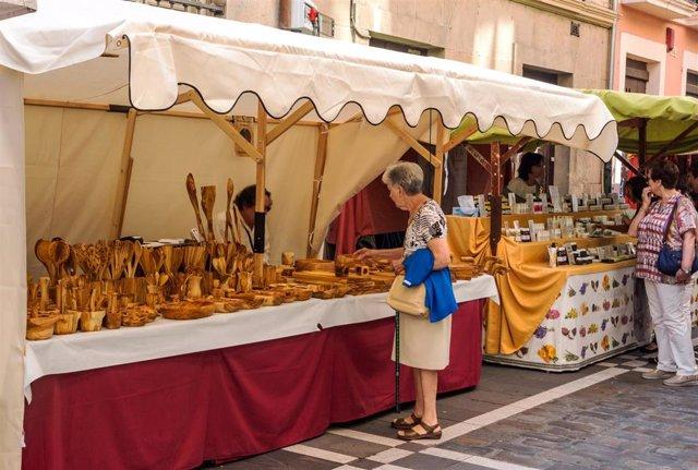 Mercado Medieval de los Tres Burgos en Pamplona