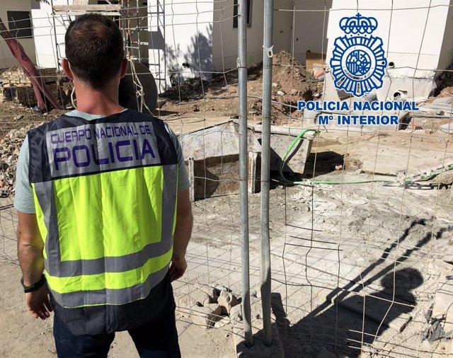 Cádiz.-Sucesos.- Detenido en Algeciras por emplear presuntamente a extranjeros e