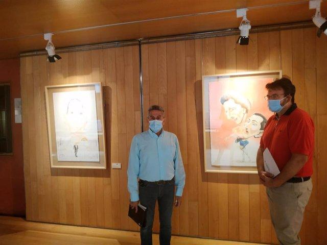 L Centro Fundación Caja Rioja-Bankia La Merced acoge desde hoy jueves una exposición de caricaturas de Fredy Rodríguez 'Los 32 fouettés me dan risa'