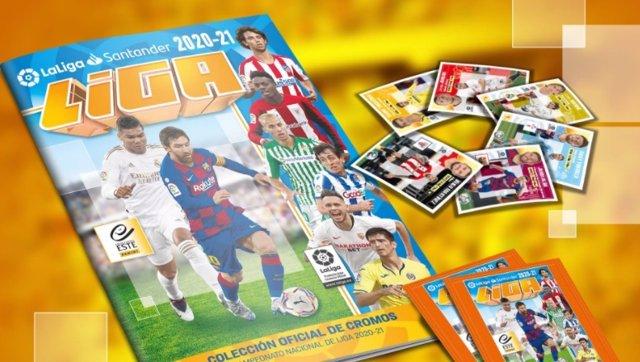 Fútbol.- Messi, portada de la colección de cromos de PANINI de LaLiga de la temp